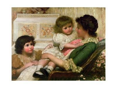 The Artist's Wife and Her Two Daughters
