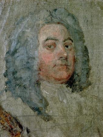 Portrait of George Frederick Handel (1685-1759)