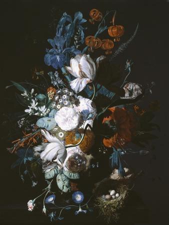 Vase with Flowers, C.1720