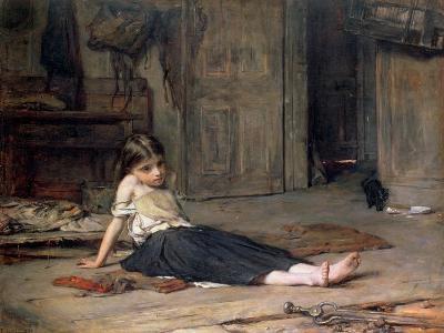 Girl by the Fireside, 1867