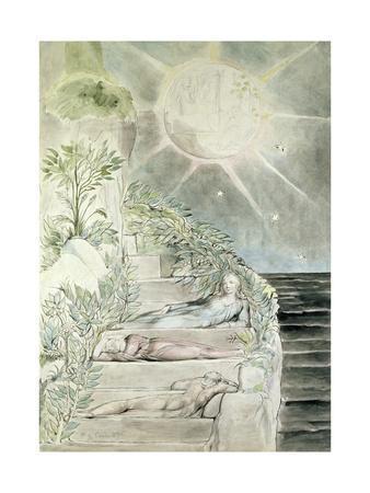 Dante and Statius Sleeping, Virgil Watching