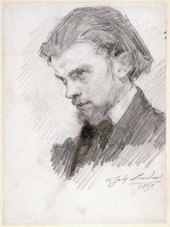 Self Portrait, 1859