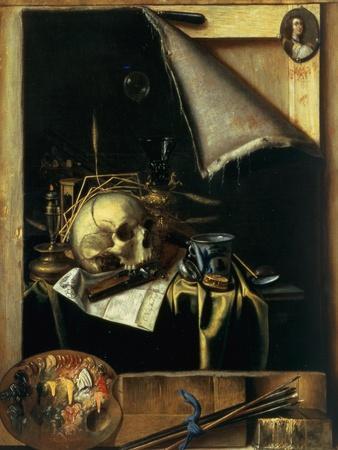 Vanitas (Still Life - Trompe L'Oeil) 1664
