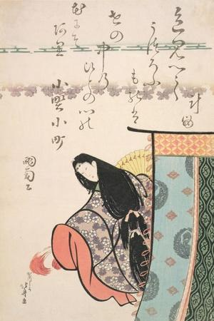 Ono No Kamachi, from the Series 'The Six Immortal Poets', C.1810