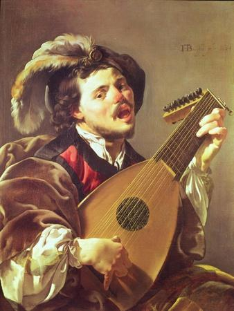 The Lute Player, 1624