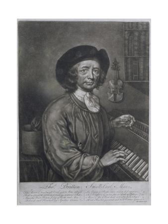 Thomas Britton (1644-1714), the Small-Coal Man, Engraved by Thomas Johnson