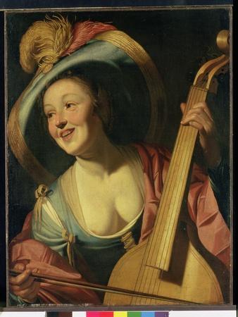 The Viola Da Gamba Player