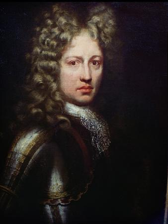Portrait of Patrick Sarsfield, Titular Earl of Lucan (D.1693) Irish Jacobite and Soldier