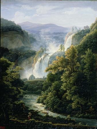 The Caduta Delle Marmore Waterfall on the River Velino, 1819