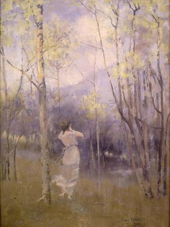 Spring in Moniaive, 1889