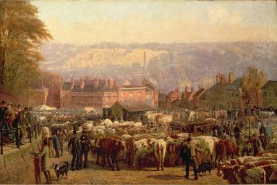 The Hill at Norwich on Market Day, 1871