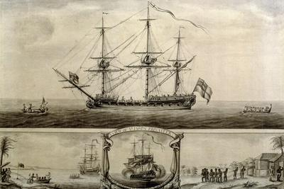 A View of Ye Jason Privateer, C.1760