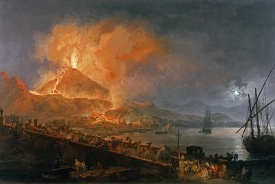 Eruption of Vesuvius in 1771