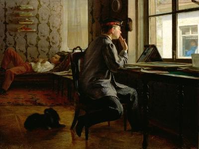 Preparing for Examinations, 1864