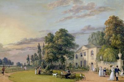 Tea at Englefield Green