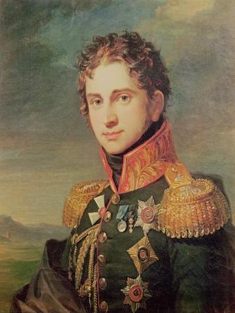 Portrait of Pavel A. Stroganov, before 1825