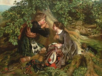 Scottish Lovers,1863