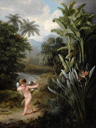 Cupid Inspiring the Plants with Love, Painted for Robert Thornton's Book 'New Illustration of the…