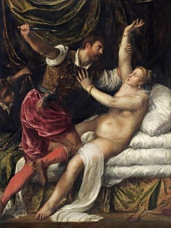 Tarquin and Lucretia, C.1568-76