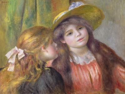 Portrait of Two Girls, C.1890-92