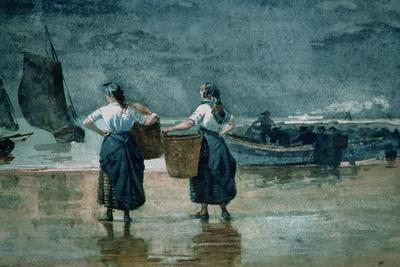Fisher Girls by the Sea