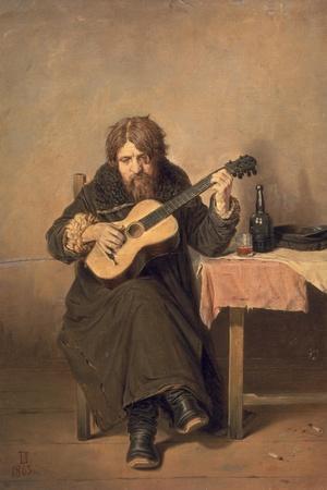 The Widowed Guitar Player, 1865
