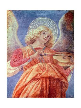Musical Angel with Violin