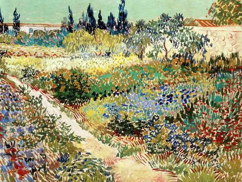 Merveilleux The Garden At Arles, ...