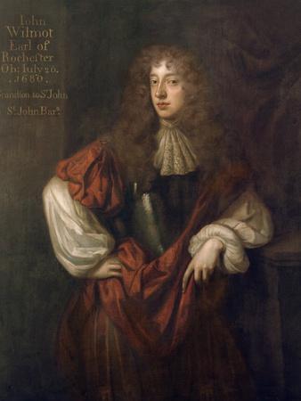 Portrait of John Wilmot (1647-80) 2nd Earl of Rochester