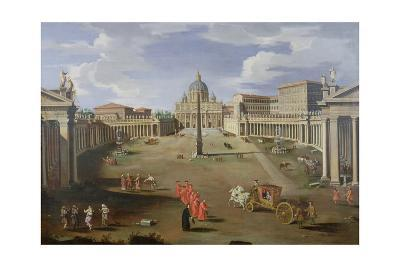 A View of St. Peter's in Rome