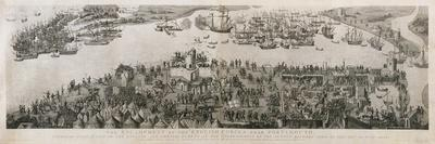 The Encampment of the English Forces Near Portsmouth During the Battle of the Solent, 1778
