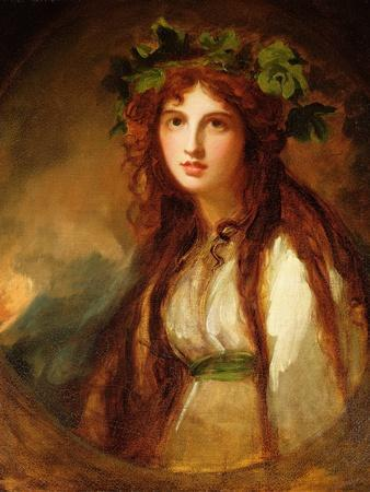 Portrait of Emma, Lady Hamilton, as a Bacchante
