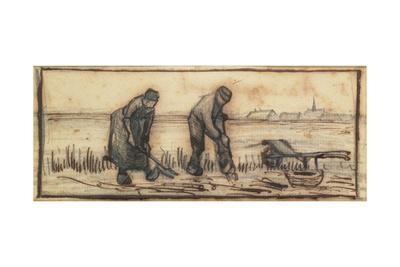 The Potato Harvest, from a Series of Four Drawings Representing the Four Seasons