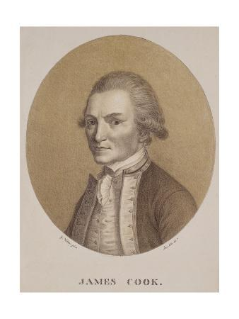 Captain James Cook, Engraved by Josef Selb, C.1820