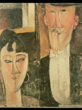 Bride and Groom (The Couple), 1915-16