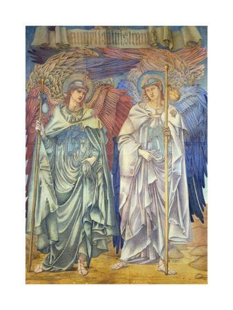 Angeli Ministrantes (Design for a Window in Salisbury Cathedral)