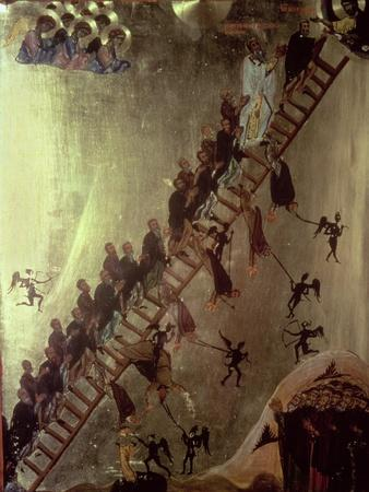'The Ladder of John Klimakos' Icon, 12th Century