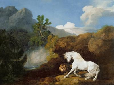 A Horse Frightened by a Lion, 1770