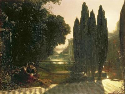 Scene from 'The Merchant of Venice', C.1828
