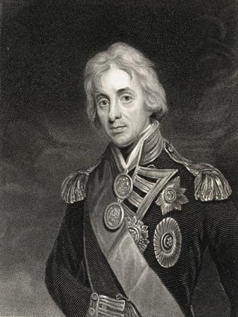 Portrait of Lord Horatio Nelson (1758-1805)