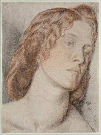 Fanny Cornforth, Study for 'Fair Rosamund', 1861