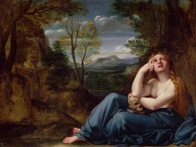 Mary Magdalene in a Landscape, C.1599