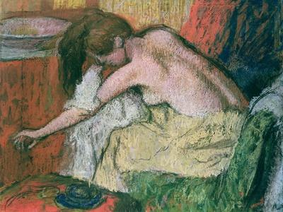 Woman Drying Herself, 1888-89