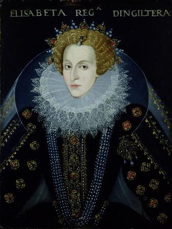 Portrait of Queen Elizabeth I (1533-1603)