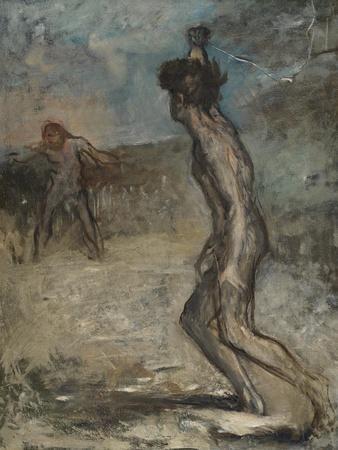 David and Goliath, C.1857