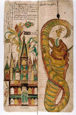 Valhalla and the Midgard Serpent, 1680