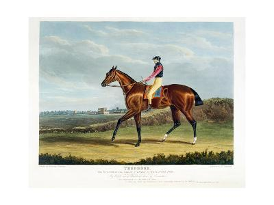 'Theodore', the Winner of the Great St. Leger at Doncaster, 1822, Engraved by Thomas Sutherland…