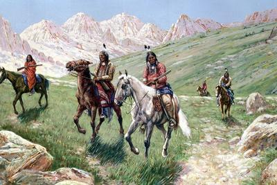 In the Cheyenne Country, 1896