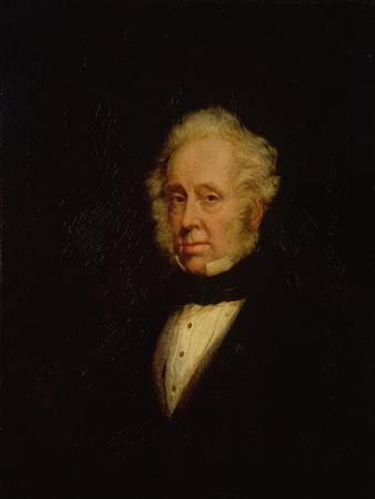 Portrait of Lord Palmerston (1784-1865)