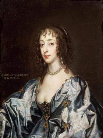 Queen Henrietta Maria (1609-69)